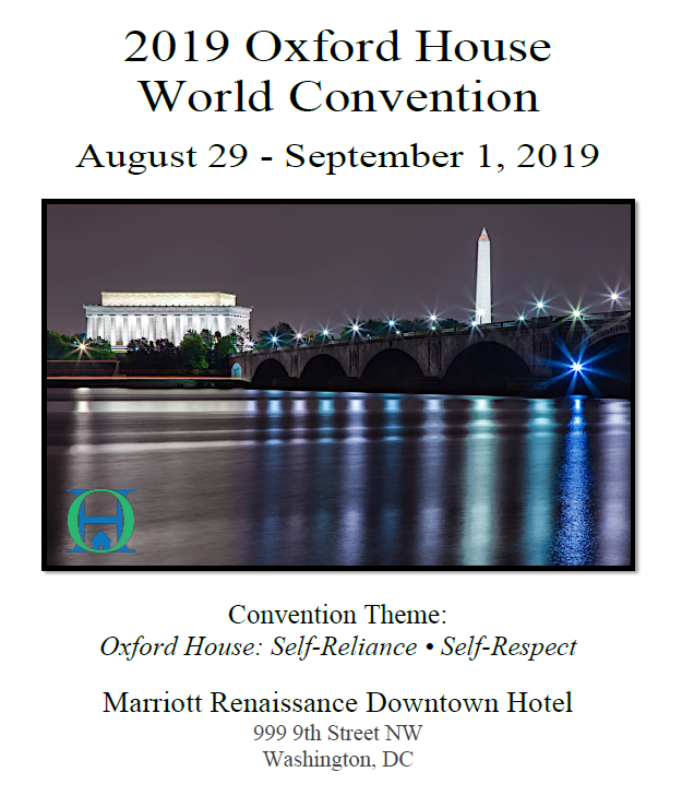 2019 Oxford House World Convention